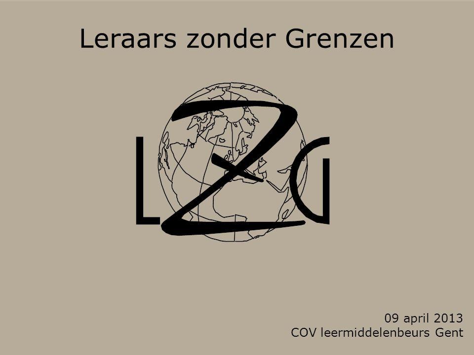 Leraars zonder Grenzen 09 april 2013 COV leermiddelenbeurs Gent