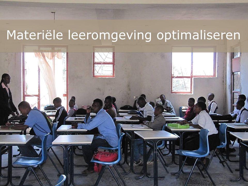 Materiële leeromgeving optimaliseren