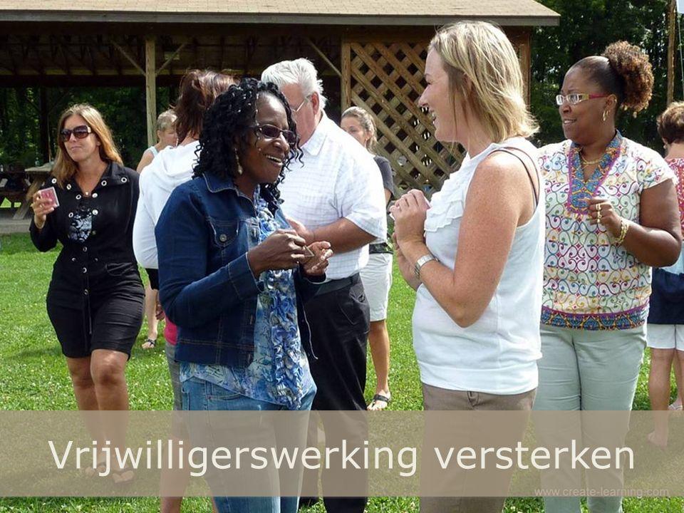 Vrijwilligerswerking versterken