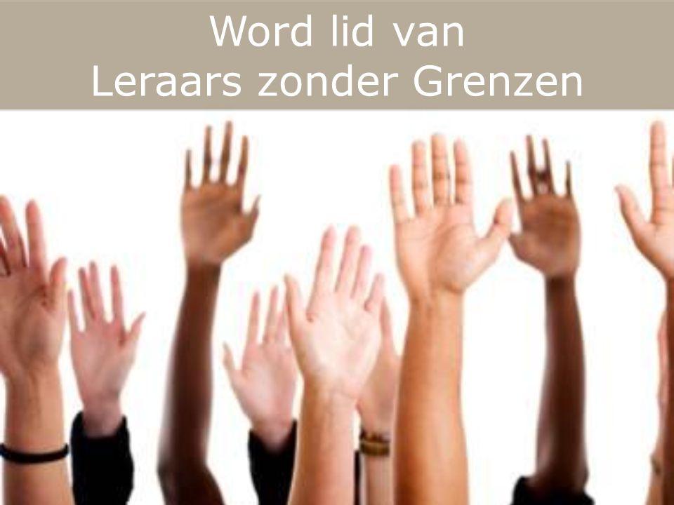 Word lid van Leraars zonder Grenzen