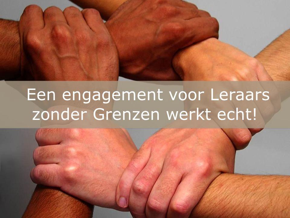 Een engagement voor Leraars zonder Grenzen werkt echt!