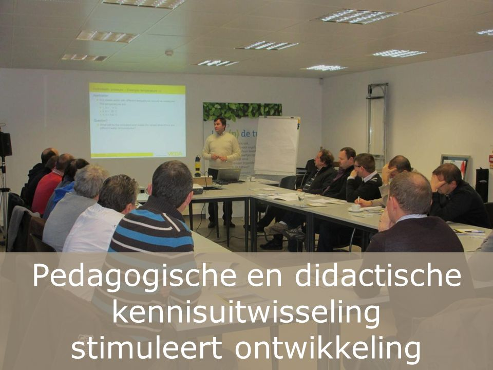 Pedagogische en didactische kennisuitwisseling stimuleert ontwikkeling