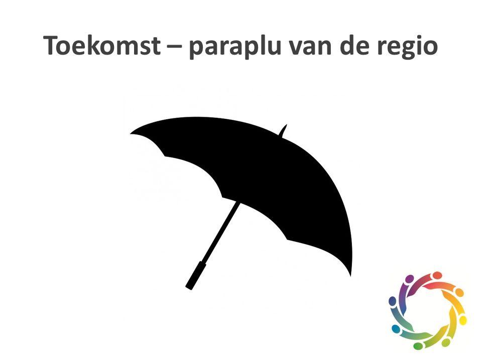 Toekomst – paraplu van de regio