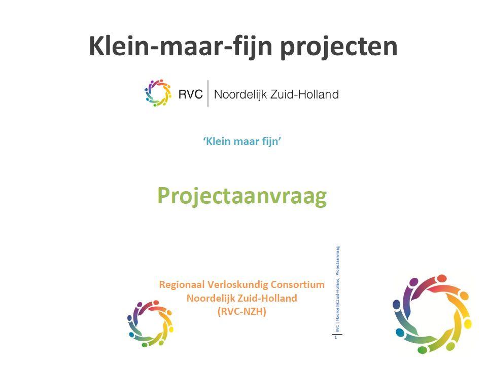 Klein-maar-fijn projecten