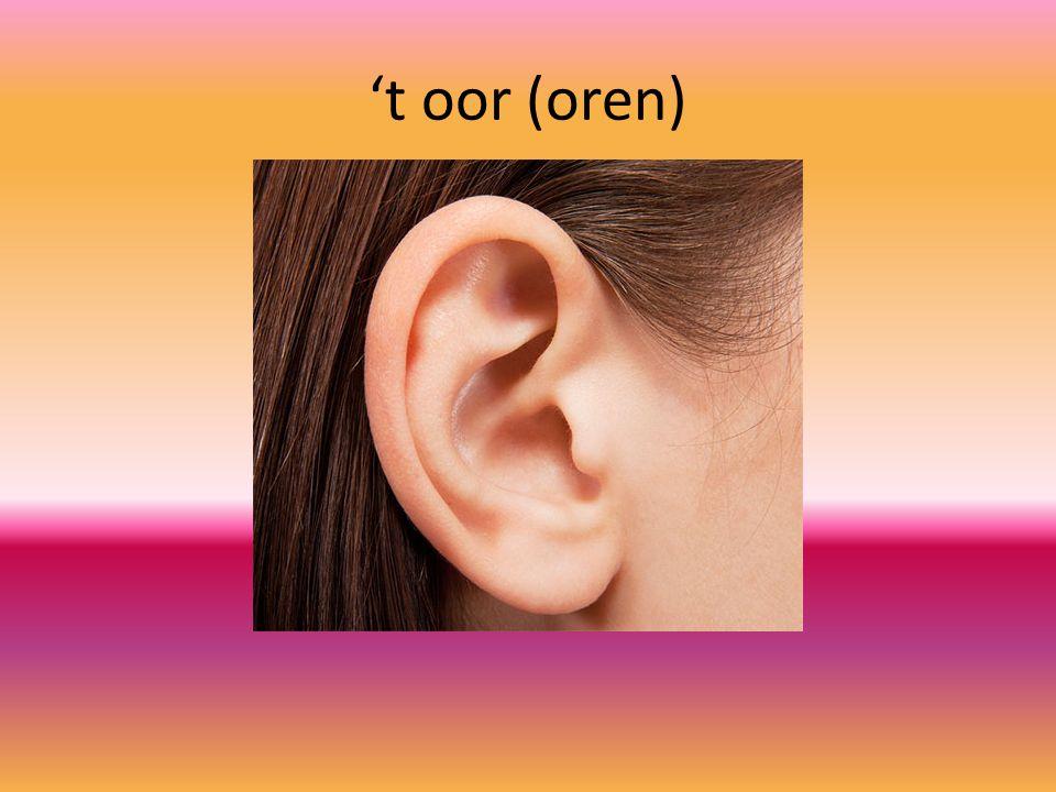 't oor (oren)
