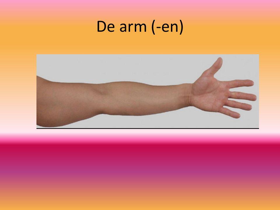 De arm (-en)