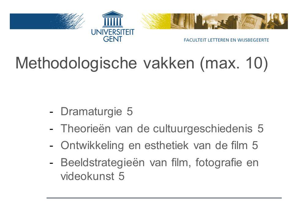 Master VML en/of stage: meer info? BartL.VanderStraeten@ugent.be