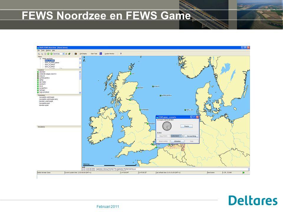 FEWS Noordzee en FEWS Game