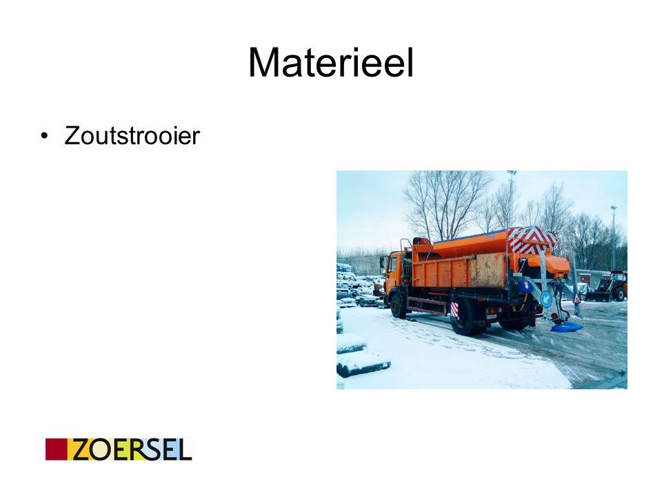 Materieel Zoutstrooier