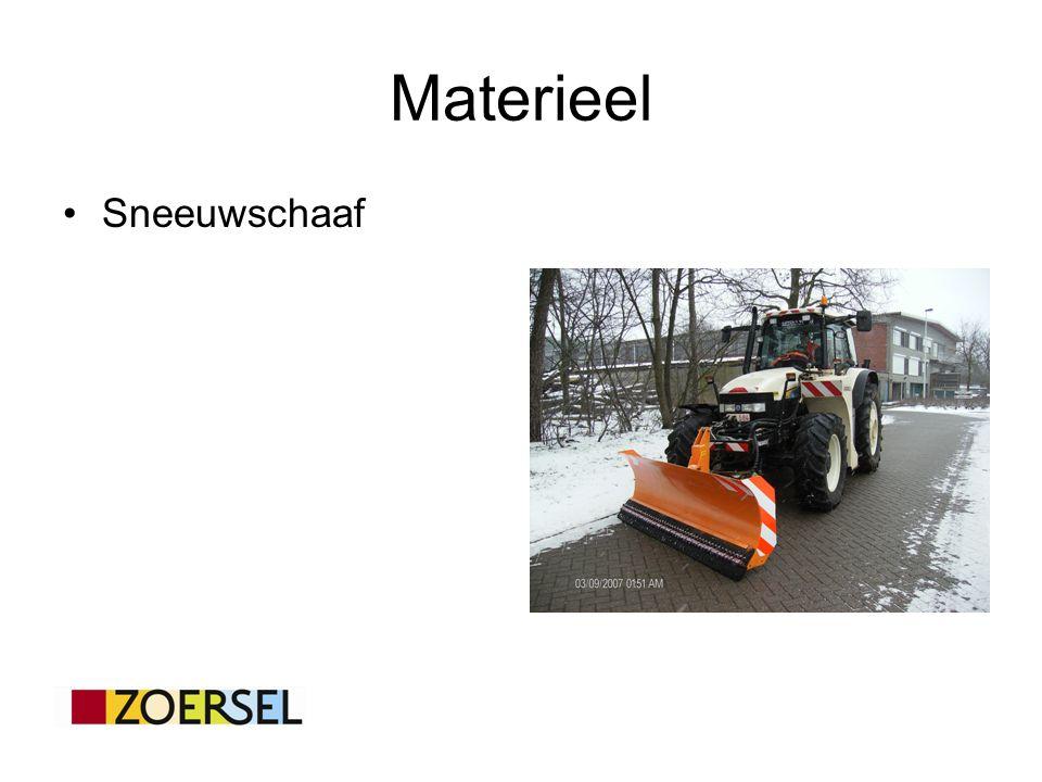 Materieel Sneeuwschaaf