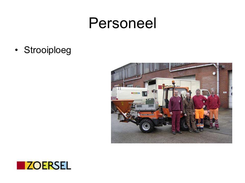 Personeel Strooiploeg