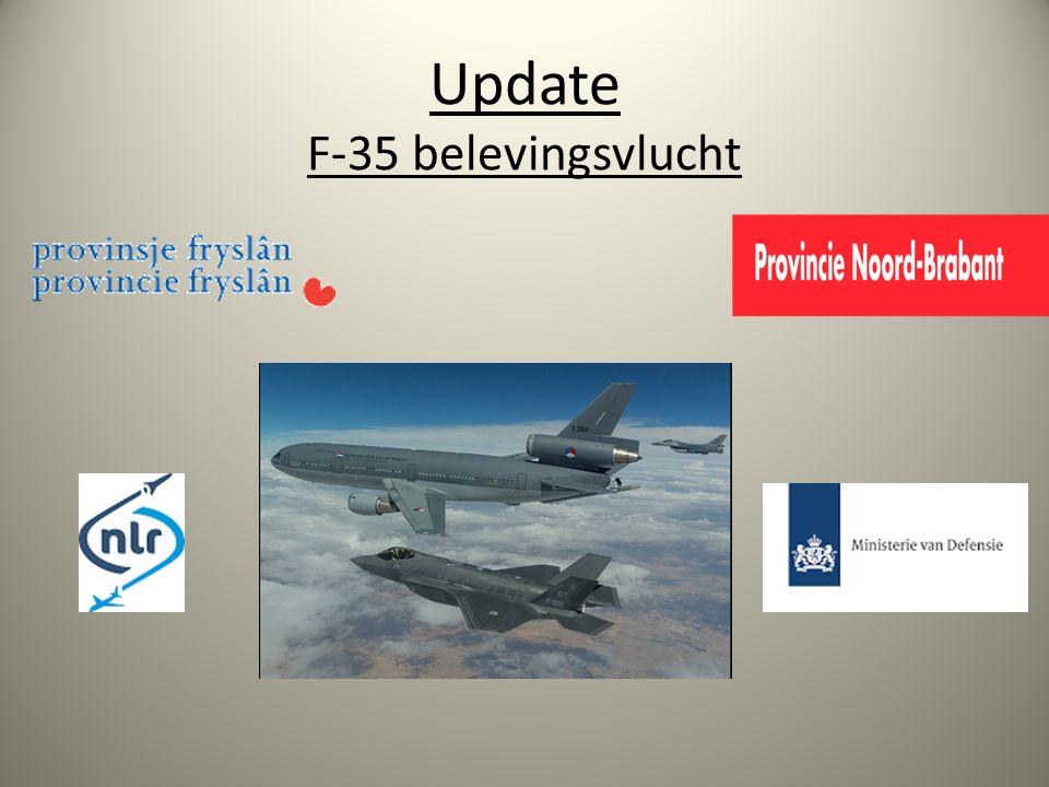 Update F-35 belevingsvlucht