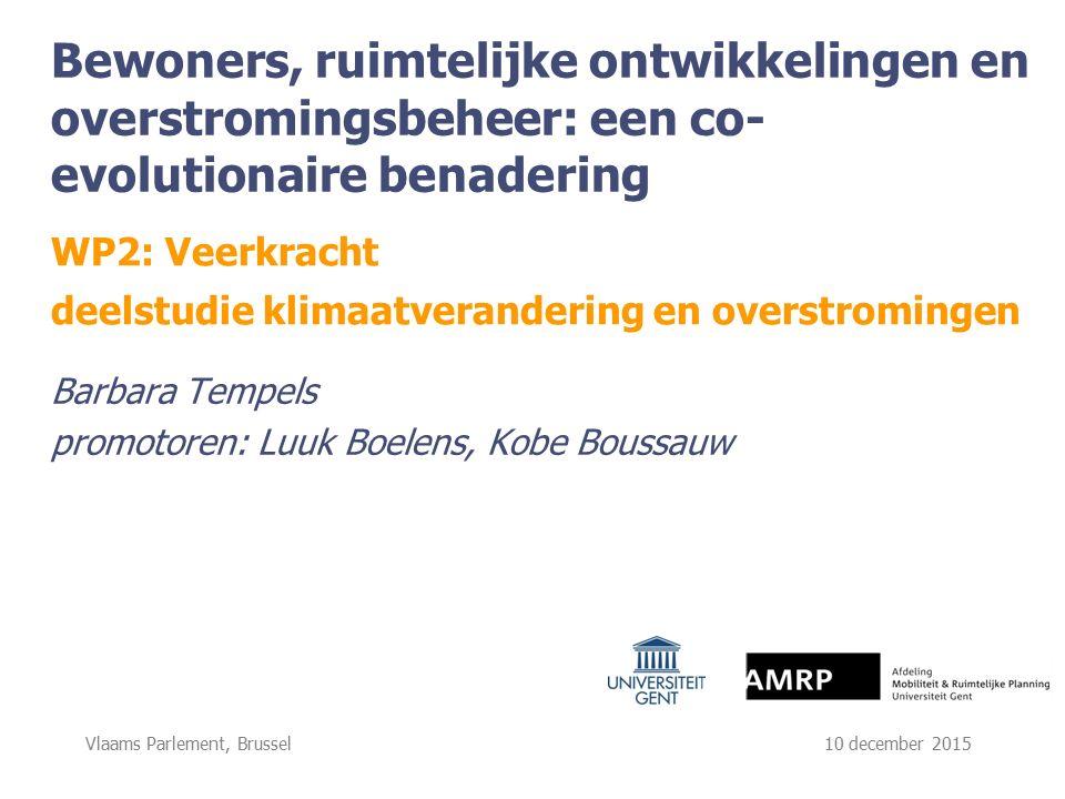 Vlaams Parlement, Brussel 10 december 2015 participatievr aagstuk