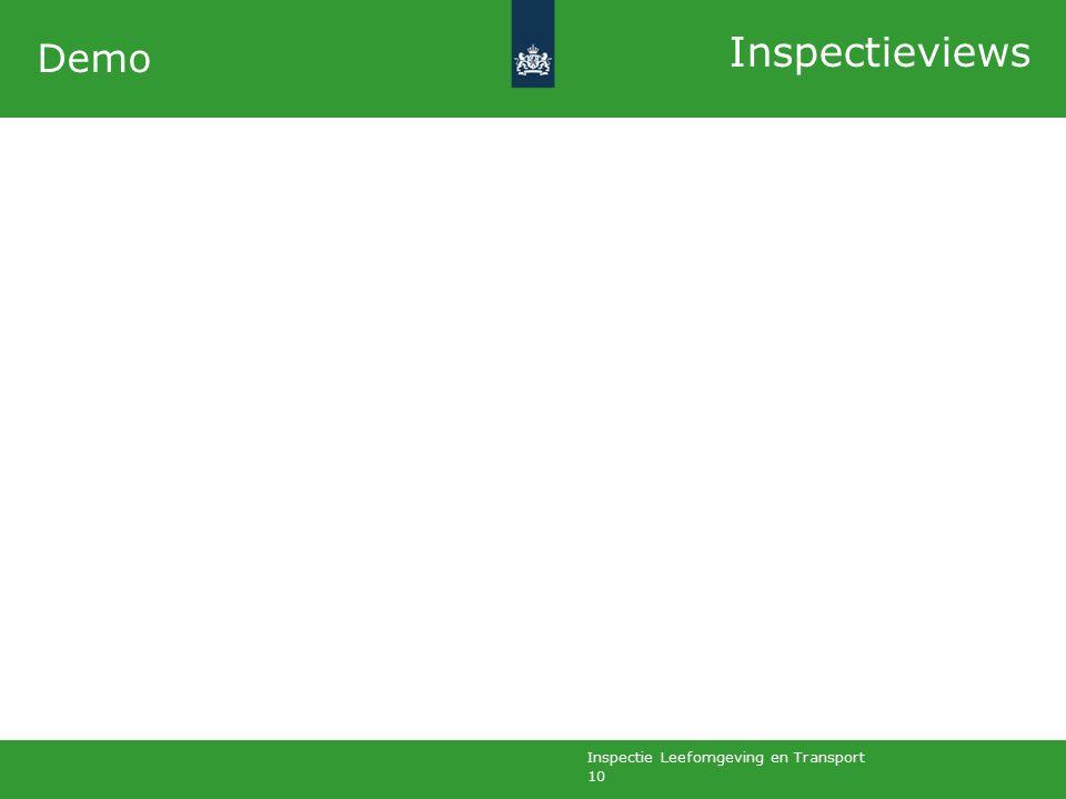 Inspectie Leefomgeving en Transport 10 Demo Inspectieviews