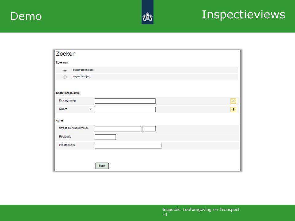 Inspectie Leefomgeving en Transport 11 Demo Inspectieviews