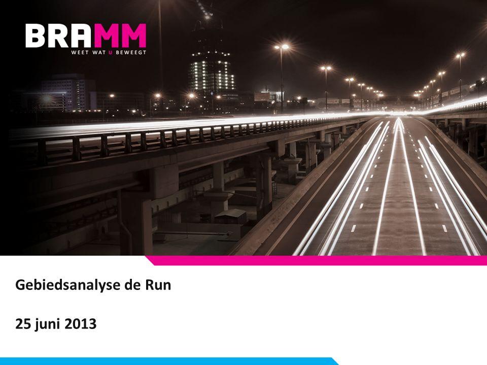 Gebiedsanalyse de Run 25 juni 2013