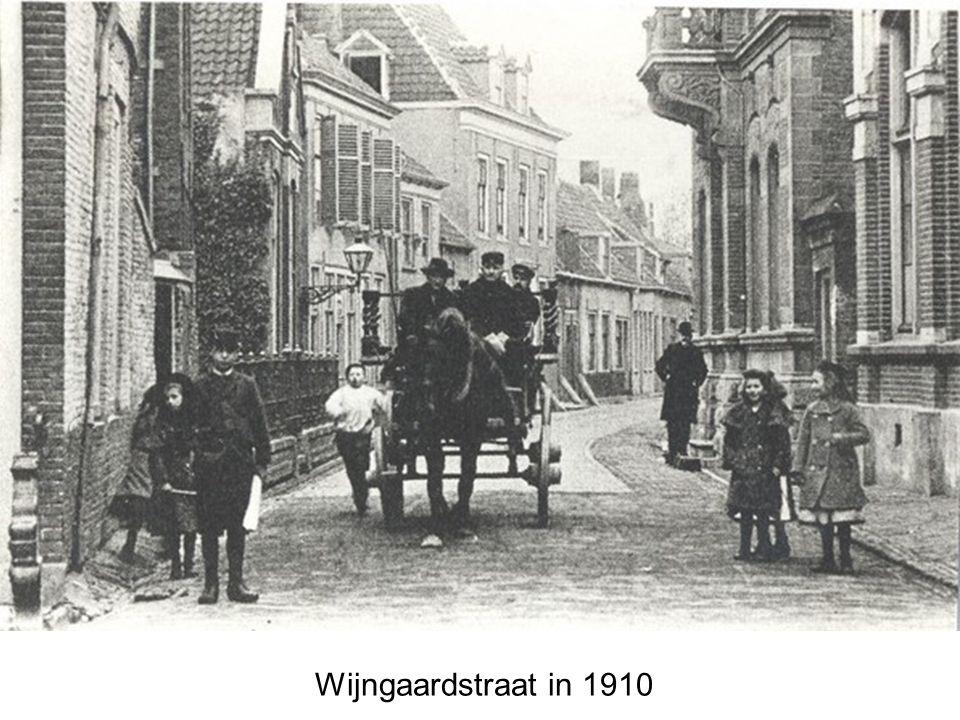 Wijngaardstraat in 1910