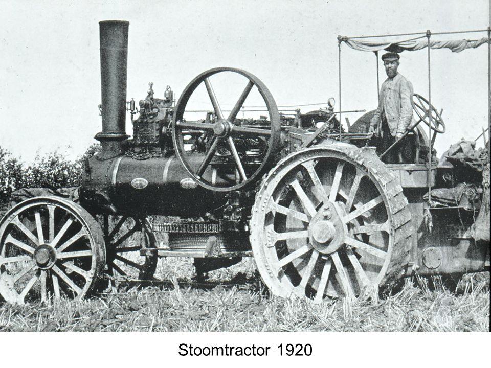 Stoomtractor 1920