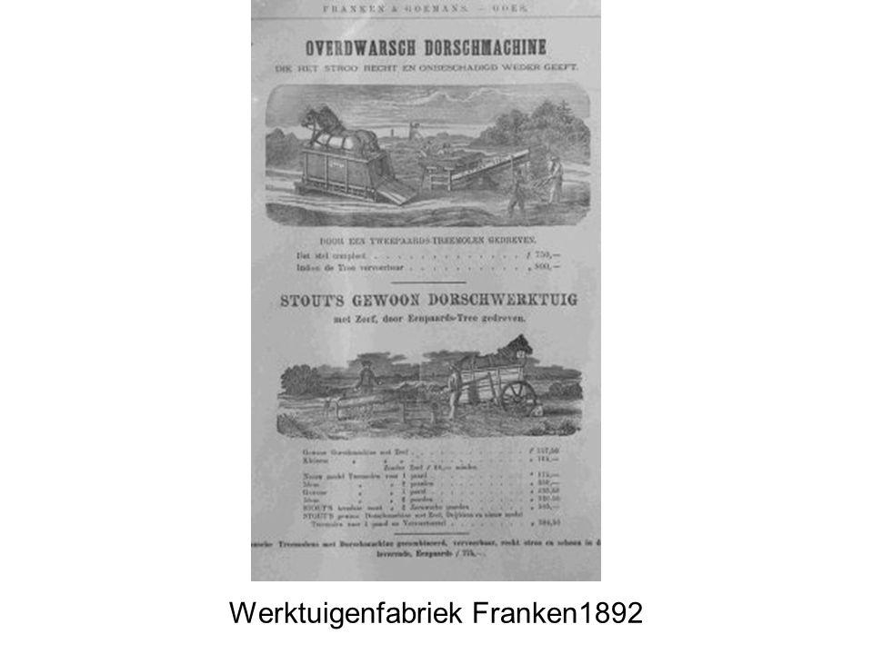 Wijngaardstraat in 1910 zeepziederij tot 1841