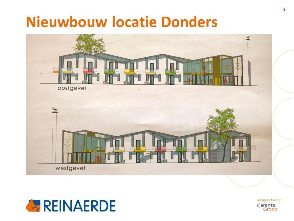 Aangesloten bij: Nieuwbouw locatie Donders 8