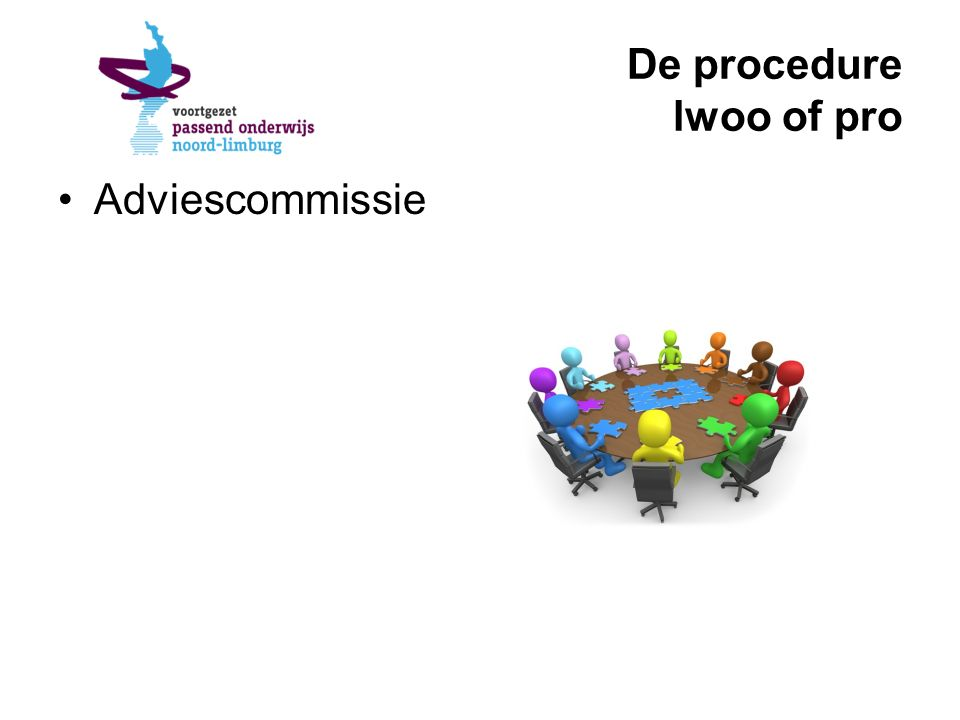 De procedure lwoo of pro Adviescommissie