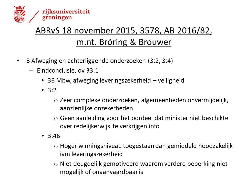 ABRvS 18 november 2015, 3578, AB 2016/82, m.nt.