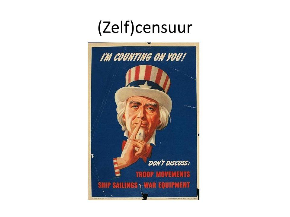 (Zelf)censuur