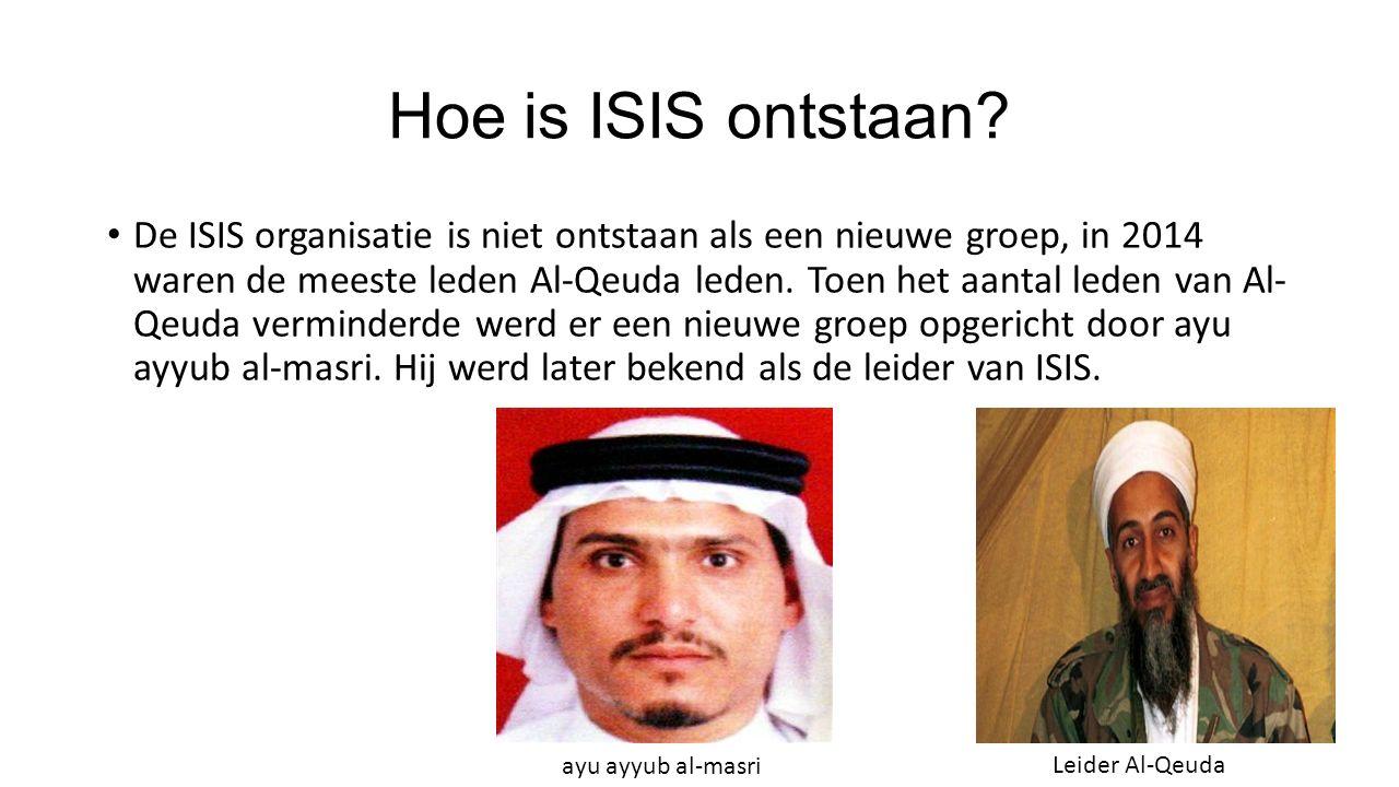 Wat is ISIS? Isis is een terroristen groep dat al duizenden mensen heeft vermoord omdat zij tegen de principes van ISIS in gaan. Bijvoorbeeld niet in