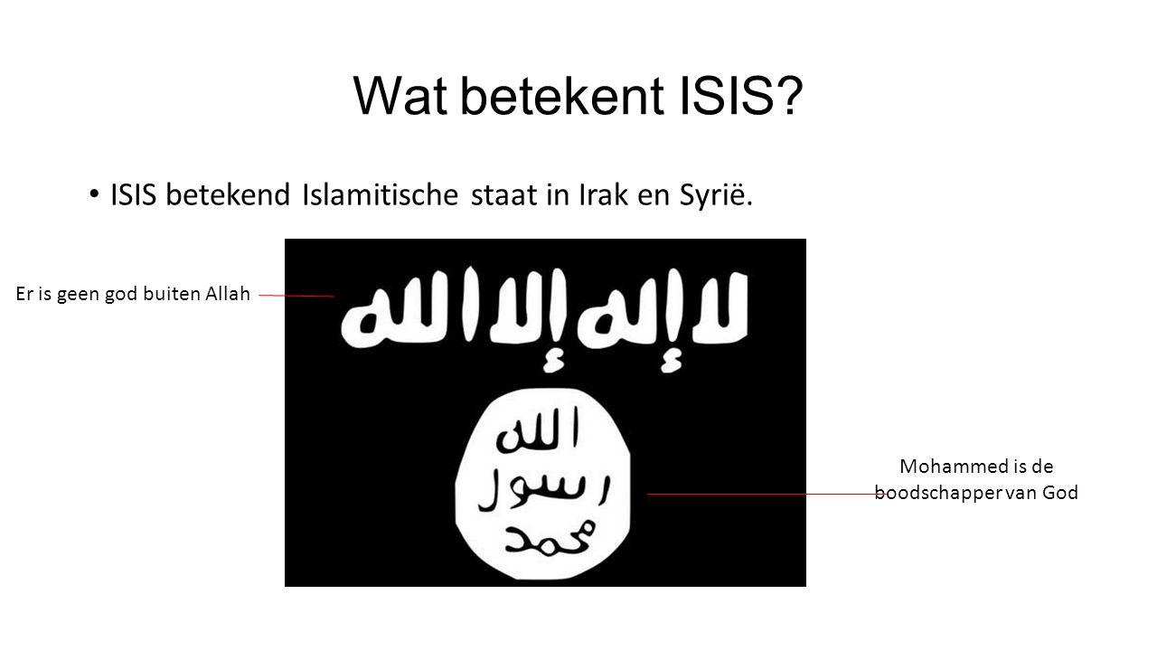 Hoe is ISIS ontstaan? De ISIS organisatie is niet ontstaan als een nieuwe groep, in 2014 waren de meeste leden Al-Qeuda leden. Toen het aantal leden v