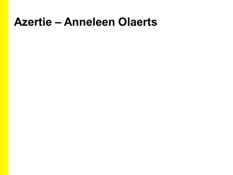 Azertie – Anneleen Olaerts