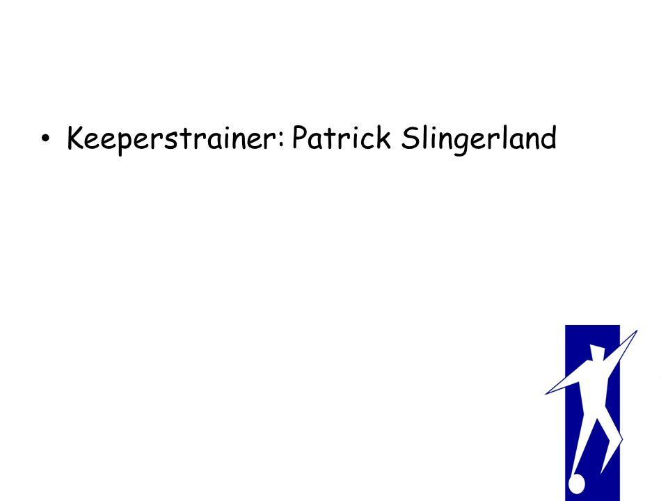 Keeperstrainer: Patrick Slingerland