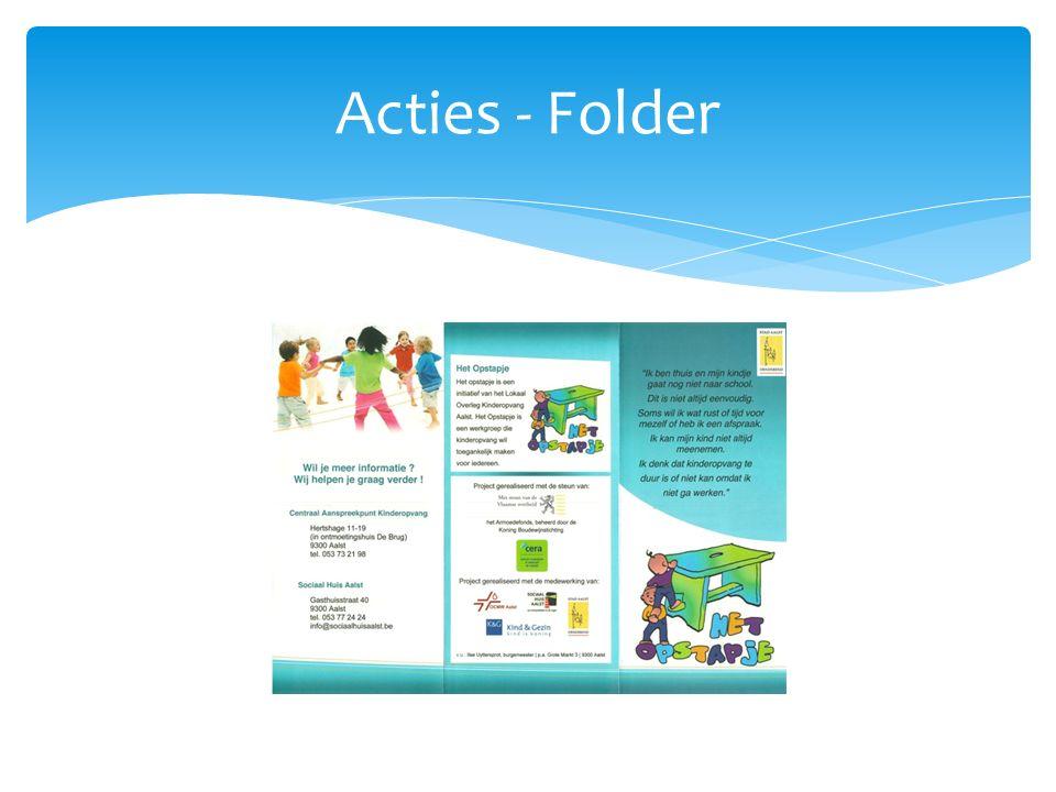 Acties - Folder