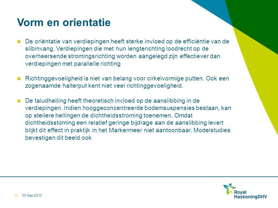 30 Sep 2013 Vorm en orientatie De oriëntatie van verdiepingen heeft sterke invloed op de efficiëntie van de slibinvang.