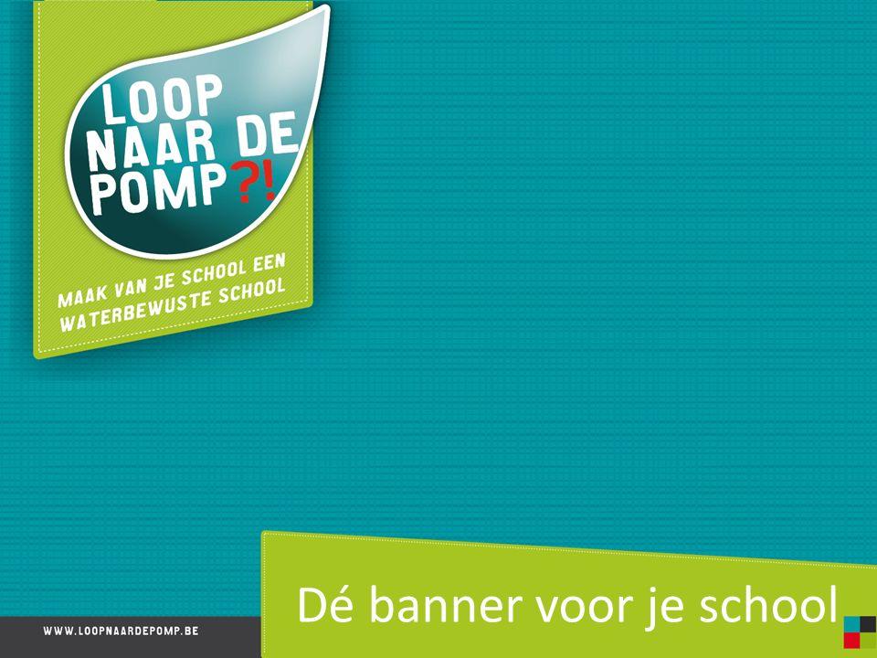 Dé banner voor je school