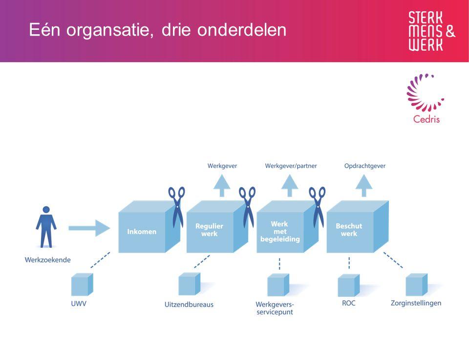 Fusie: één organisatie voor hele proces