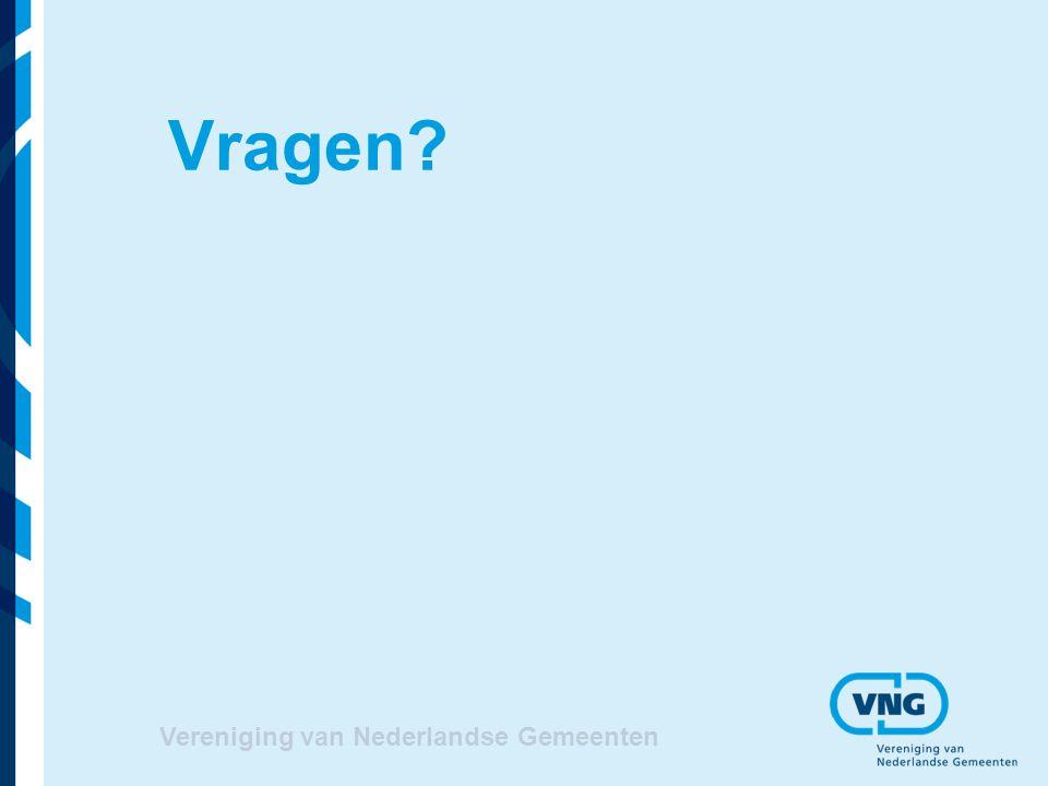 Vragen Vereniging van Nederlandse Gemeenten