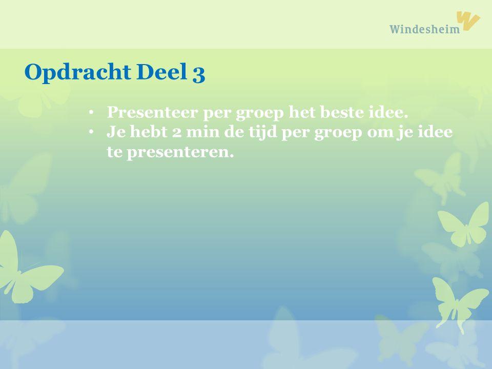 Een samenvatting van vandaag komt op www.ECENT.nl Neem de ideeën mee naar je opleiding.
