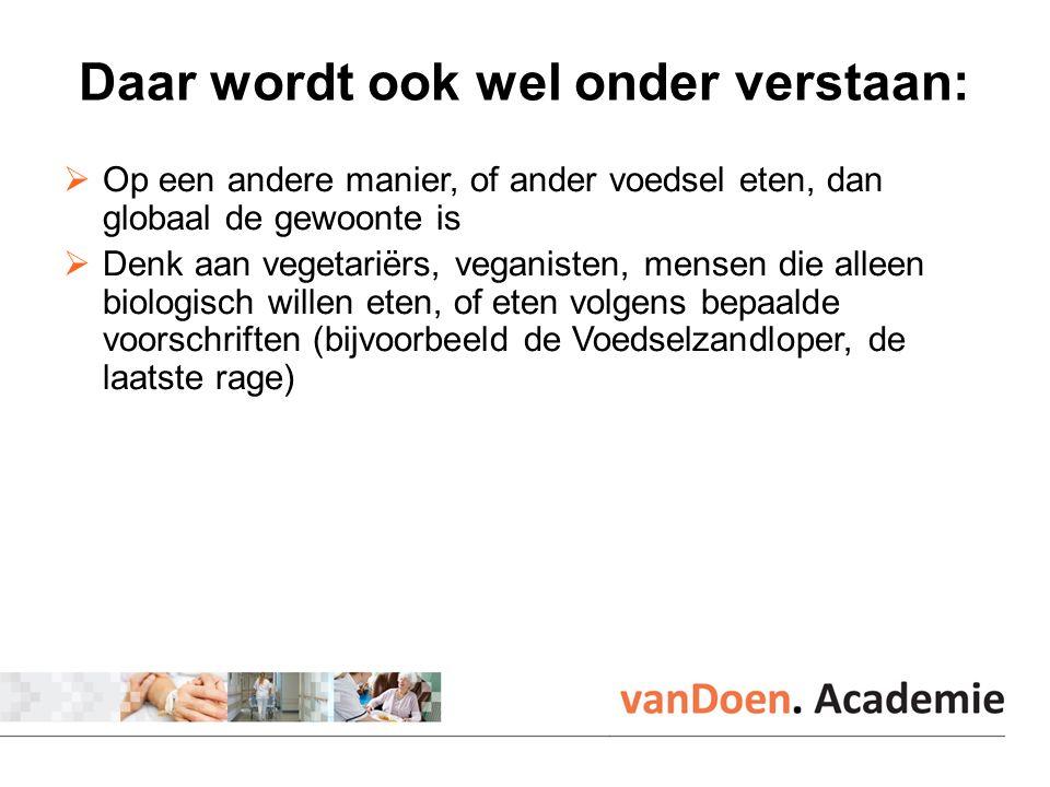 Vegetarisch  Vegetariërs eten geen vis of vlees.