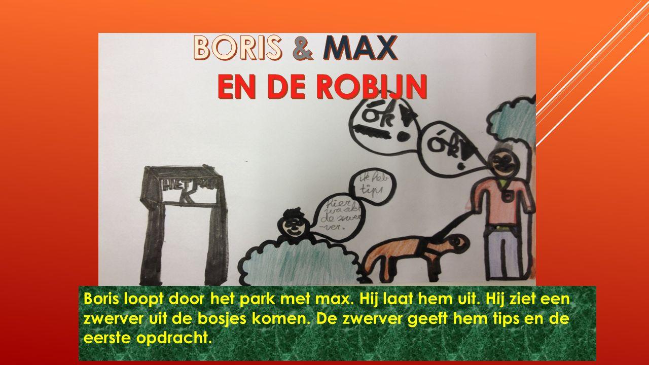De robijn is gestolen en Boris moet met Max de robijn terughalen.