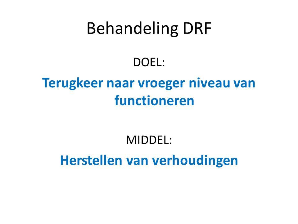 Behandeling DRF Mogelijkheden: – Gipsimmobilisatie – Fixeren dmv stalen pennen – Fixeren dmv plaat en schroeven