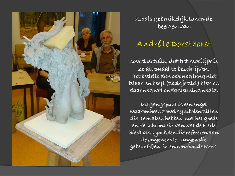 Zoals gebruikelijk tonen de beelden van André te Dorsthorst zoveel details, dat het moeilijk is ze allemaal te beschrijven. Het beeld is dan ook nog l