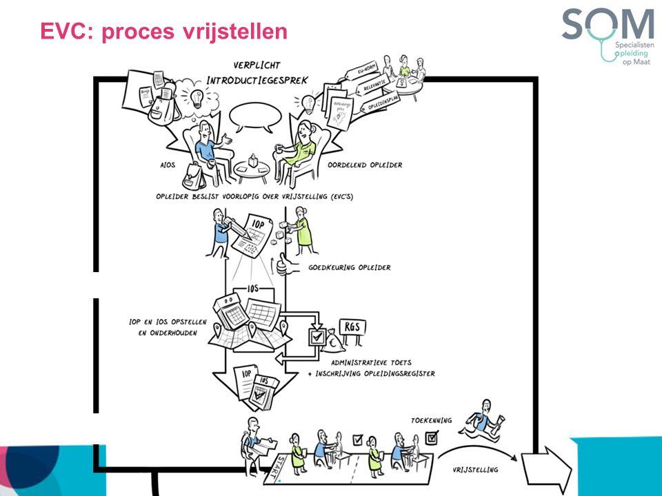 EVC: proces vrijstellen