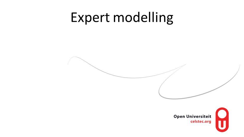 Expert modelling