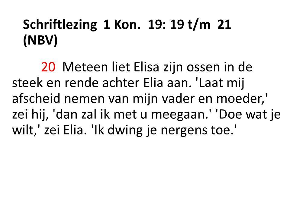Schriftlezing 1 Kon.
