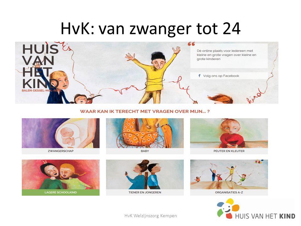 HvK: van zwanger tot 24 HvK Welzijnszorg Kempen18