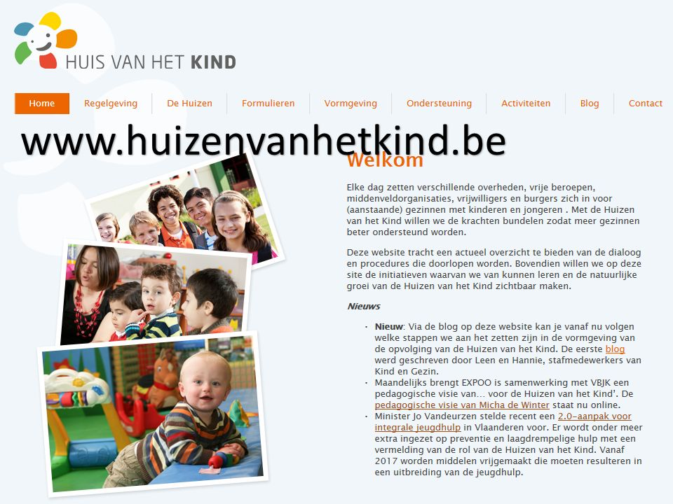 Partneroverleg Huis van het Kind Lier22 www.huizenvanhetkind.be