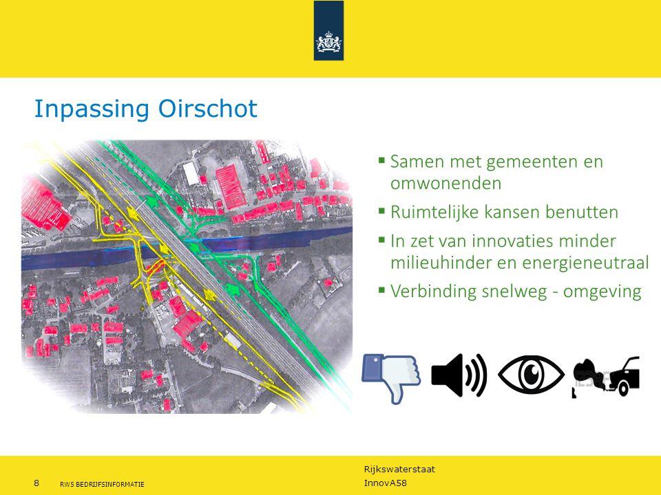 Rijkswaterstaat 8InnovA58 RWS BEDRIJFSINFORMATIE Inpassing Oirschot