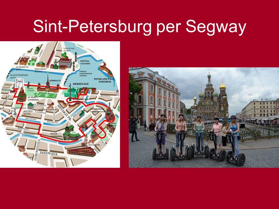 Sint-Petersburg per Segway