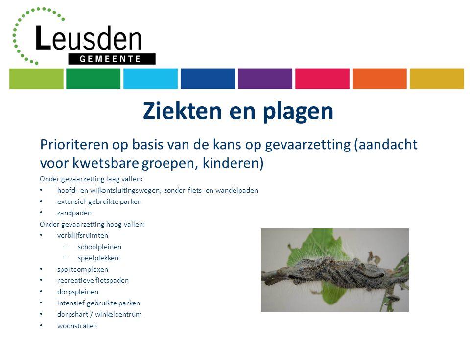 Planning Vaststellen onderdelen: A de visie; B Bomenstructuurplan; 1ste kwartaal 2012 Groene kaart en bomenverordening.