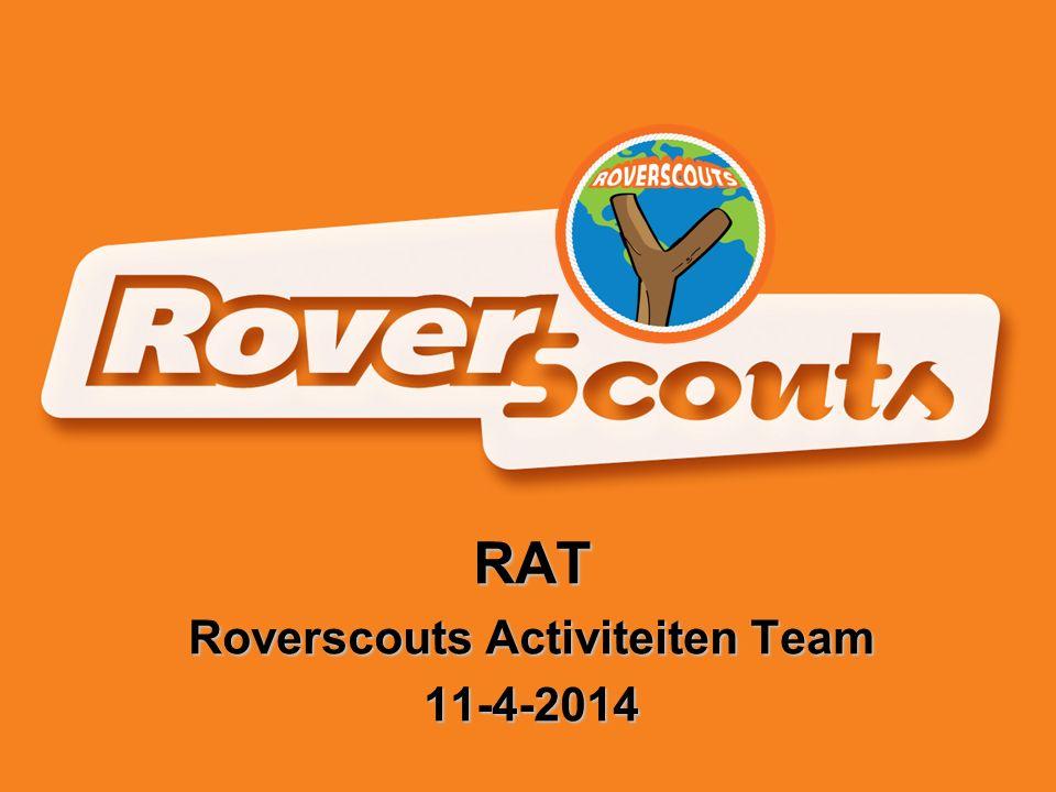 RAT Roverscouts Activiteiten Team 11-4-2014